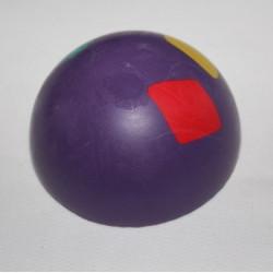 Polguľa z tvrdej gumy