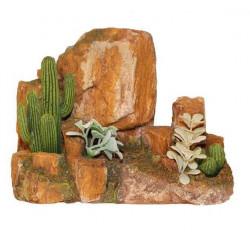 Kameň s kaktusom L