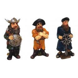 Piráti 6,5x3,5x9cm