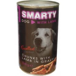 Smarty konzerva pre psa jahňacia 1240g