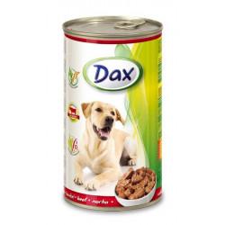 Dax konzerva pre psov hovädzia 1240g