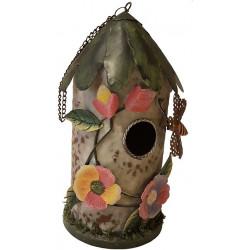 Plechový domček pre vtáky