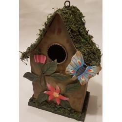 Plechový domček pre vtáky B