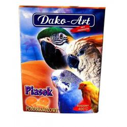 DAKO - ART Piesok pre vtáky pomarančový 250g