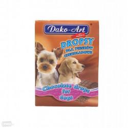 DAKO - ART Dropsy pre psov čokoládové 75g