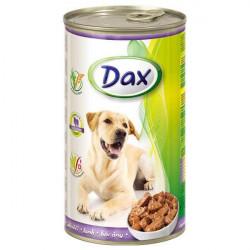 Dax konzerva pre psov jahňacia 1240g