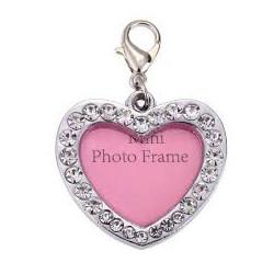 Mini fotorámik / adresár srdce