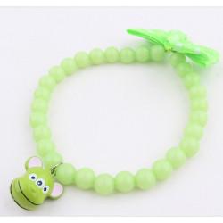 Gorálkový náhrdelník zelený 1x28cm