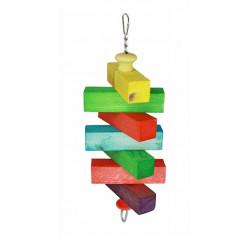 Lanová hračka pre papagáje 35x10cm