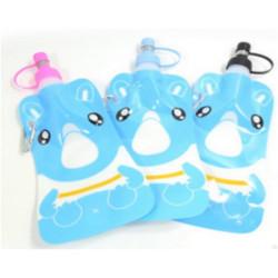 Skladacia fľaša na vodu farebná 500ml