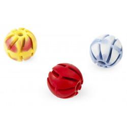 Lopta parfémovaná z tvrdej gumy dierovaná 6cm