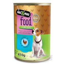 Konzerva HM kuracie mäso v šťave pre psov 400 g