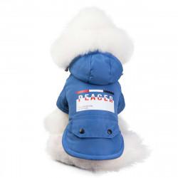 Nepremokavá bunda Peacer modrá