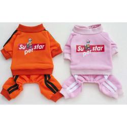 Overal SuperStar ružový