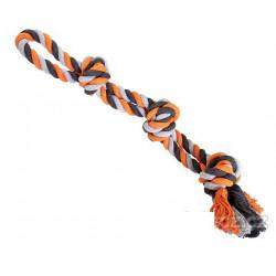 Dvojité lano s 3 uzlami 60cm/450g
