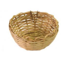 Prútené hniezdo bambusové 10cm