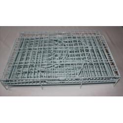 Kovová klietka na kolieskach zelená 91x63x82,5cm